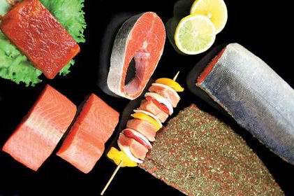 Frozen Fish Seafood Chum Salmon 2