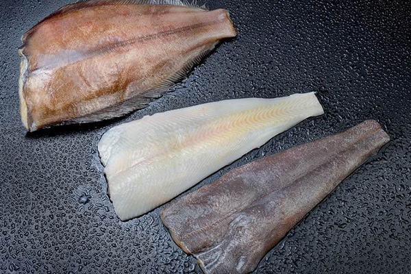 Frozen Fish Seafood Greenland Halibut