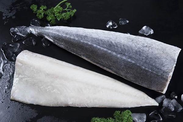 Frozen Fish Seafood Saithe Fillets