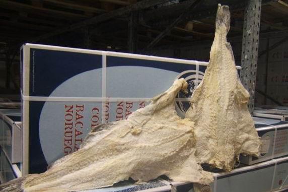 Salted Fish Dried Salted Saithe Fish Bacalhau