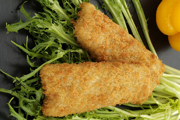Value Added Fish Seafood Breaded Formed Fish Fillets